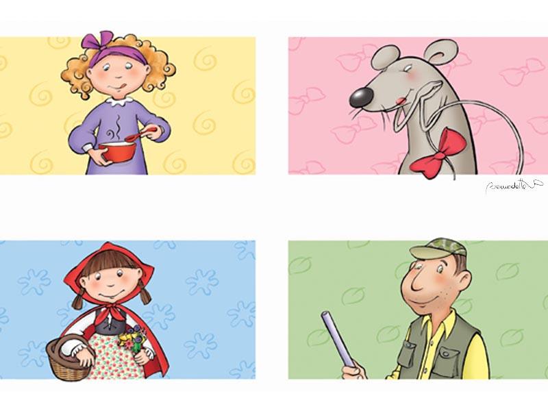 personajes de contes